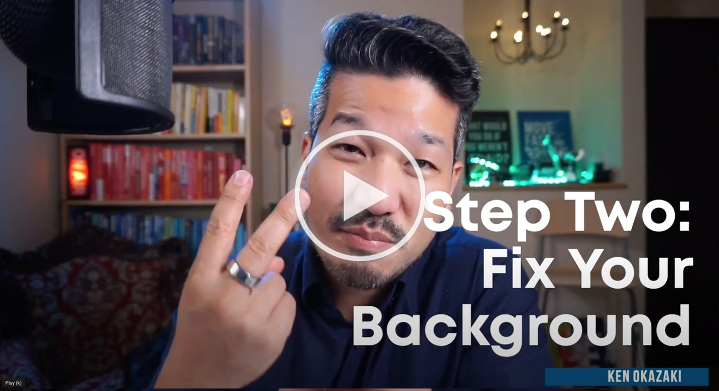 20x agency video series 2: fix your backkground