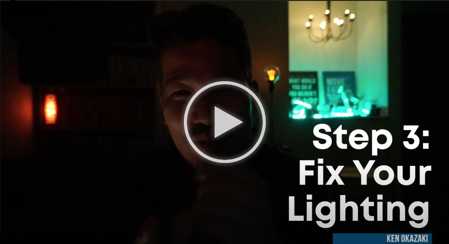 20x agency video series 3: fix your lighting