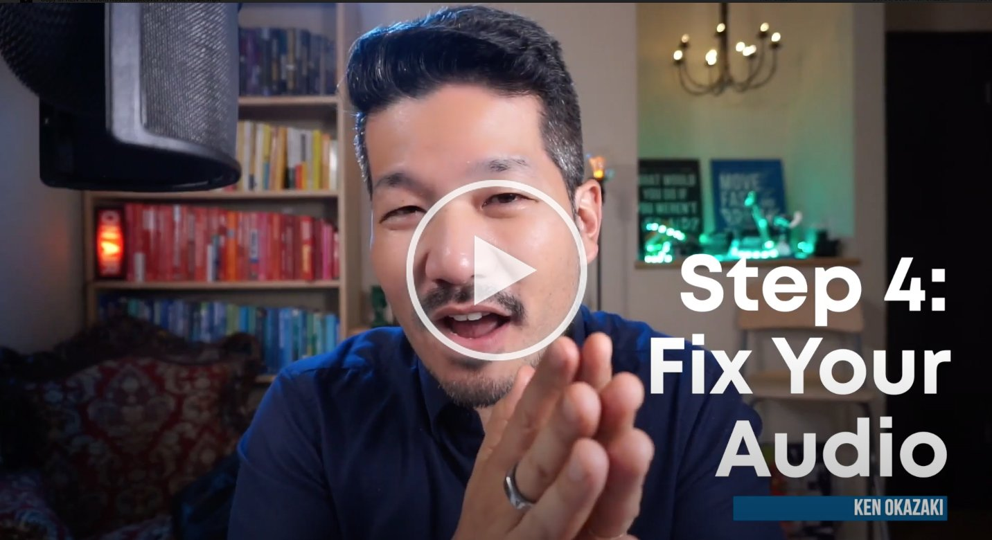 20x agency video series 4: fix your audio